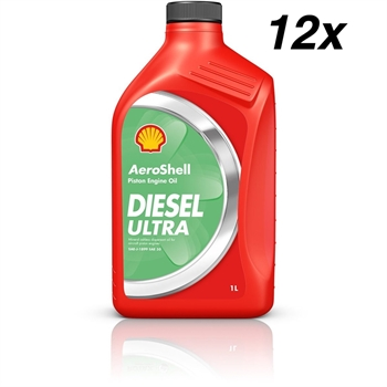 AeroShell Oil Diesel Ultra, Package 12 x 1 US-Quart