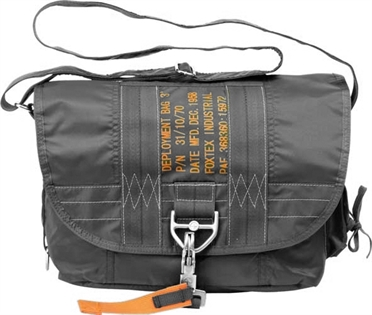 Air Force Shoulder Bag, black