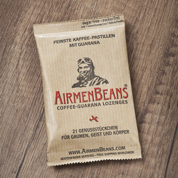 AirmenBeans, Package with 21 lozenges