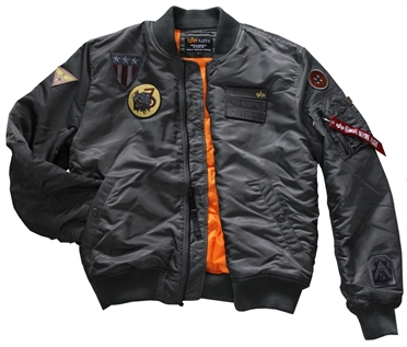 ALPHA Pilotenjacke  MA-1 AIR FORCE