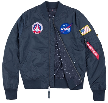 ALPHA Flying Jacket MA-1 TT NASA