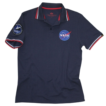 ALPHA Poloshirt NASA