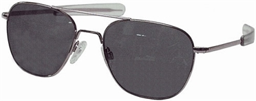 AO Original Pilot Sunglass®, lens 57 mm, frame matte chrome