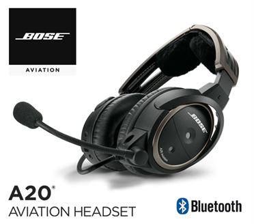 Bose A20 - Heli-Version, with Bluetooth, Electret Mic, spiral cord