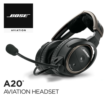 Bose A20 - Heli-Version, without BT, dyn. Mic, straight cord