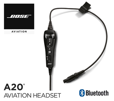 Bose A20 Cable assy - LEMO-Version, with Bluetooth, Electret Mic