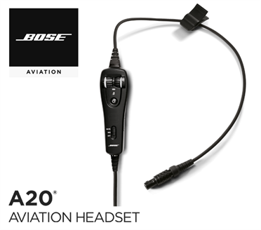 Bose A20 Cable assy - LEMO-Version, without Bluetooth, without Installwirring harness, Electret Mic
