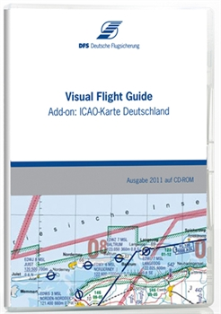 Digital ICAO-Chart Germany - Add-on to the Visual Flight Guide