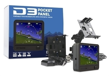 Dynon D3 Pocket Panel - Portables EFIS