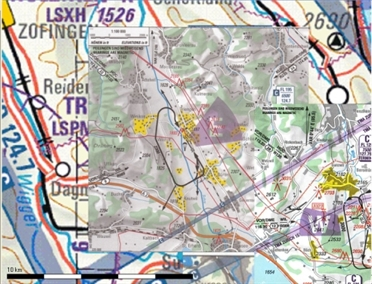 Flight Planner / Sky-Map Approach Charts AIP Switzerland