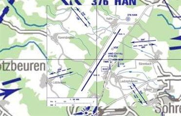 Flight Planner / Sky-Map AIP VFR Charts Germany