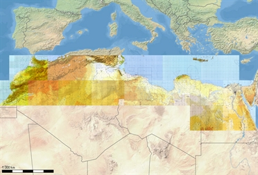 Flight Planner / Sky-Map TPC-Charts North Africa