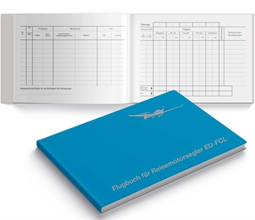 Flight log book for touring motor-glider EU-FCL