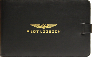 Flight Book Protective Cover Professional, leather