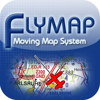 Flymap Android with ICAO charts Germany