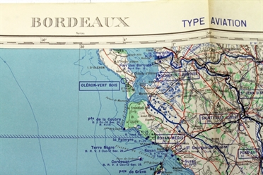 Historical Chart France Bordeaux 1956