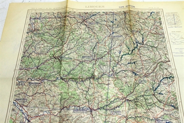 Historical Chart France Limoges 1956