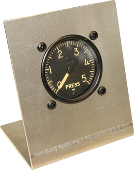 Hydraulic Pressure Gauge with Aluminum Stand