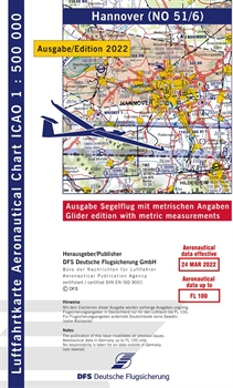 ICAO Chart Hannover Glider