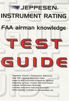 Instrument Rating FAA Airmen Knowledge Test Guide