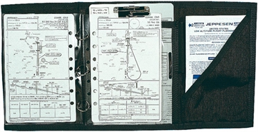 Kniebrett Jeppesen Three-Ring Trifold
