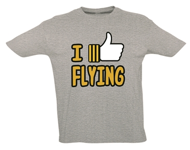 Pilot T-Shirt I LIKE FLYING