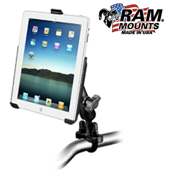 RAM MOUNT Apple iPad Rohrhalterungs Set