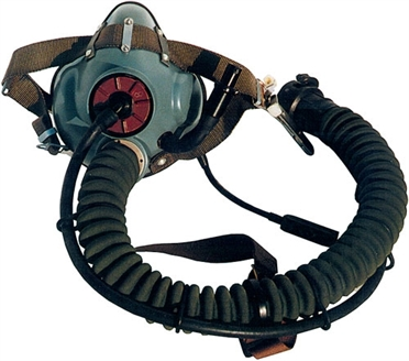 Ogygen mask for Jet-helmets