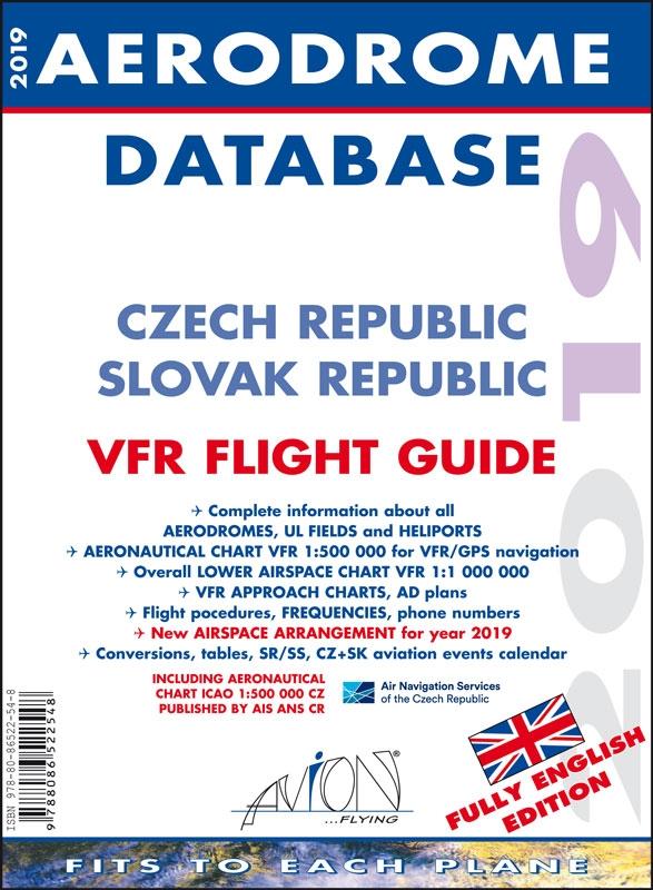 Aerodrome Database 2019 - Czech Republic / Slovak Republic