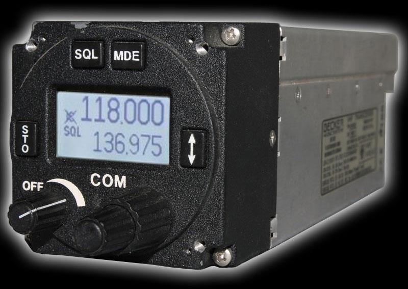 Becker Avionics Sprechfunkgerät AR 4201, gebraucht