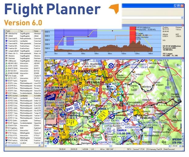 Luftfahrtkarten Headsets Flugfunk Flight Planner Update