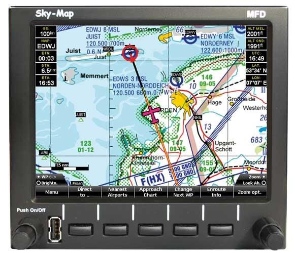 Sky-Map MFD with AHRS