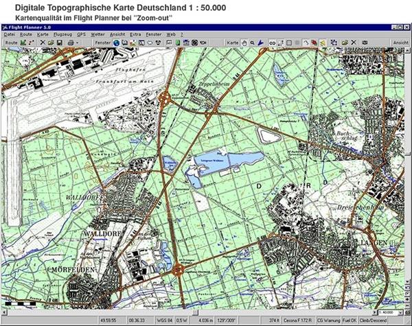 Topographische Karte Thüringen.Flight Planner Sky Map Topographische Karte Thüringen